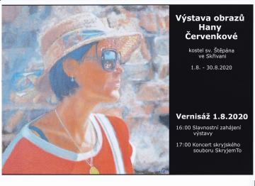 Výstava obrazů Hany Červenkové